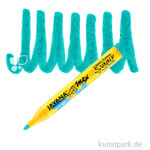 JAVANA Texi Mäx SUNNY - Stoffmalstift 2-4 mm Stift | Türkis