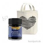 JAVANA Textil OPAK - Stoffmalfarbe für dunkle Stoffe 50 ml   Schwarz