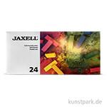 JAXELL Pastellkreide 24 halbe Kreiden Sortiment