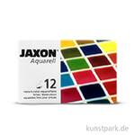 Jaxon Aquarell Metallkasten mit 12 halben Näpfchen