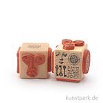 Judi-Kins Stamps - Antik Vierer - Würfel