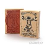 Judi-Kins Stamps - Leonardo Mann - 10x13 cm