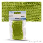 Juteband 40 mm Breite 1 m | Grün