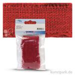 Juteband 40 mm Breite 1 m | Rot