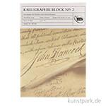 Kalligraphieblock No.2, 50 Blatt, 95 g