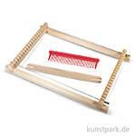 Kinder-Webrahmen, 18,5x29 cm, Webbreite 16,5 cm