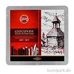 Koh-I-Noor Gioconda Art-Set 8899, 24-teilig im Metalletui