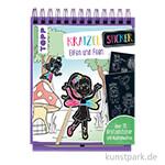 Kratzel-Stickerbuch Elfen, TOPP