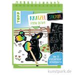 Kratzel-Stickerbuch - Ostern, TOPP