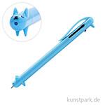 Kugelschreiber Multicolor - Hund, Blau