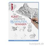 Kunst des Zeichnens 15 Minuten - Tierkinder, TOPP