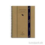 Lana LIVRE DE DESSIN Skizzenbuch, 50 Blatt, 150g, spiral DIN A3