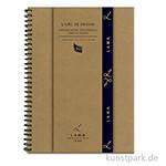 Lana LIVRE DE DESSIN Skizzenbuch, 50 Blatt, 150g, spiral
