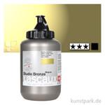 Lascaux STUDIO Bronzefarben 500 ml Flasche   993 Englischgrüngold
