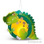 Laternen-Bastelset - T-Rex mit umfangreichem Zubehör