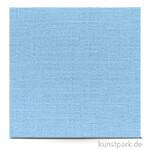 Leinenstruktur - Scrapbookingpapier, 216 g 30,5 x 30,5 cm | Hellblau
