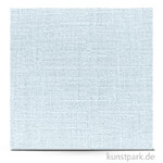 Leinenstruktur - Scrapbookingpapier, 216 g 30,5 x 30,5 cm | Himmelblau