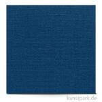 Leinenstruktur - Scrapbookingpapier, 216 g 30,5 x 30,5 cm | Jeansblau