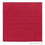Leinenstruktur - Scrapbookingpapier, 216 g 30,5 x 30,5 cm | Kardinalrot