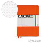 Leuchtturm Notizbuch Hardcover - Orange - Dotted