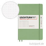 Leuchtturm Notizbuch Hardcover - Salbei - Dotted Medium A5