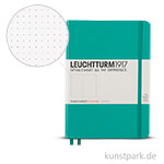 Leuchtturm Notizbuch Hardcover - Smaragd - Dotted