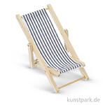 Liegestuhl aus Holz, 50x110 mm