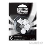 Liquitex Spray Paint Sprühköpfe Gemischt 6 Stück