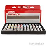 Lukas STUDIO Öl Sortiments-Karton mit 12 Tuben 20 ml