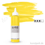 LukasCryl STUDIO Acrylfarbe 250 ml Flasche   4620 Zitronengelb Primärgelb
