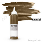 LukasCryl STUDIO Acrylfarbe 250 ml Flasche   4702 Dunkler Ocker