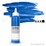 LukasCryl STUDIO Acrylfarbe 250 ml Flasche   4720 Cyan Primärblau