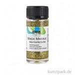 MAGIC MARBLE Marmorierfarbe - Glitzer 20 ml | Glitzer-Gold