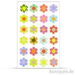 Maildor Cooky Sticker - Blumen bunt