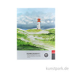 Malzeit Aquarellblock No.1, 20 Blatt, 200 g fein 24 x 32 cm