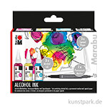 Marabu Alcohol Ink-Set FLOWERS