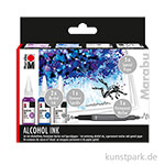 Marabu Alcohol Ink-Set UNDERWATER
