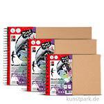 Marabu Mixed Media Ringbuch, 32 Blatt, 300 g DIN A5