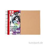 Marabu Mixed Media Ringbuch, 32 Blatt, 300 g DIN A4