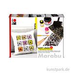 Marabu Soft Linol Print & Colouring Set