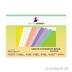 Marpa Jansen Fotokarton 10 Pastelltöne 24x34 cm 10 Blatt