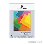 Marpa Jansen Transparentpapier farbig sortiert, 20 Blatt
