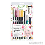 May & Berry - Tombow Watercoloring Set Floral