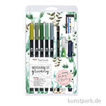 May & Berry - Tombow Watercoloring Set Greenery