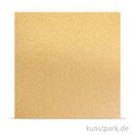 Metalleffekt Glitter fein Gold - Scrapobookingpapier
