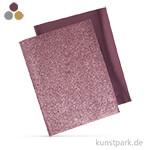 Metallic Bügel-Transferfolie - 2 Bogen