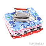 Mini Bügeleisen auf Wäsche, 2,5 cm