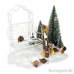 Mini-Gardening Set - Snowfeeling mit umfangreichem Zubehör