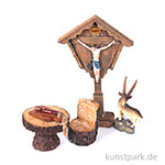Mini-Garten Set - Heiligenbild