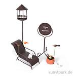 Mini-Garten Set - Herzlich Willkommen